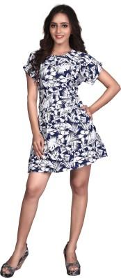 Viva N Diva Women's A-line Blue Dress