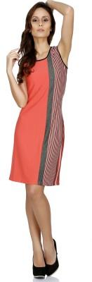 109F Women's A-line Pink Dress
