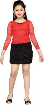 Hunny Bunny Girl's Bandage Red Dress