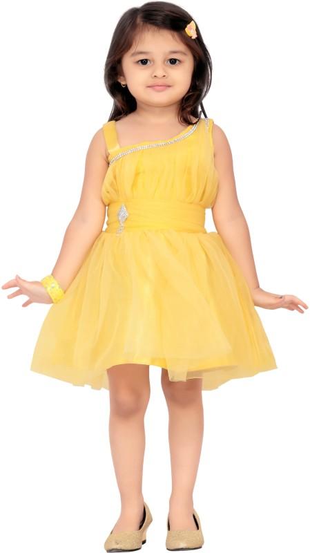Aarika Party Dress(Yellow)