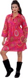 Uttam Enterprises Women's Maxi Pink Dres...