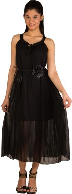 Modo Vivendi Women's Maxi Black Dress