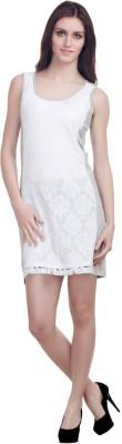 Orous Women,s Shift White, Grey Dress