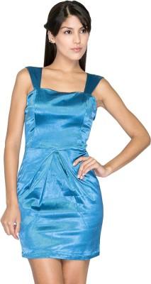 Aaliya Women,s Shift Blue Dress