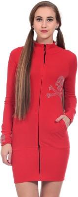 Wild Hawk Women's Shift Red Dress