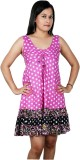 Polita Women's Fit and Flare Pink, White...