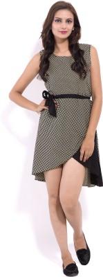 Goodwill Impex Women's A-line Black Dress