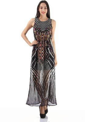 Only Womens Maxi Black Dress