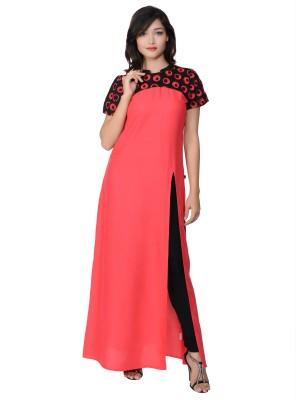 Juniper Women's Maxi Red, Black Dress