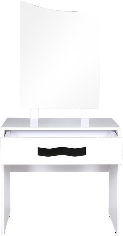 View Parin Glass Dressing Table(Finish Color - White) Price Online(Parin)