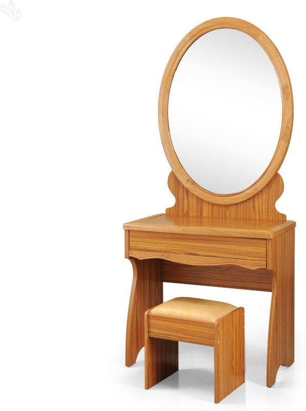 Royal Oak Ultra Solid Wood Dressing Table(Finish Color - Natural Brown)