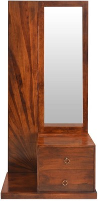@home by Nilkamal Rays Solid Wood Dressing Table