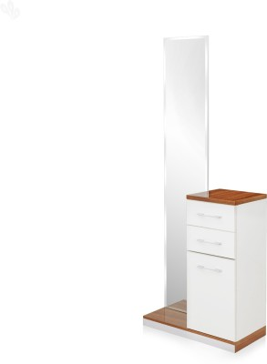 Royal Oak Aster Engineered Wood Dressing Table(Finish Color - White)