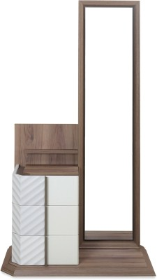 @home by Nilkamal Engineered Wood Dressing Table(Finish Color - Walnut)