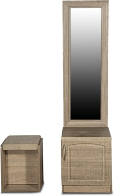 Godrej Interio Eudora Engineered Wood Dressing Table(Finish Color - Sonoma oak)