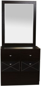 peachtree Engineered Wood Dressing Table(Finish Color - Brown)