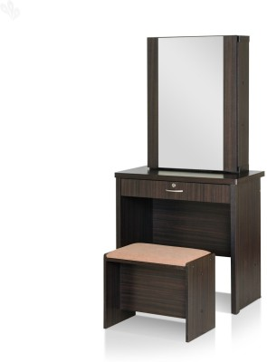 Royal Oak Berlin Engineered Wood Dressing Table(Finish Color - Dark)