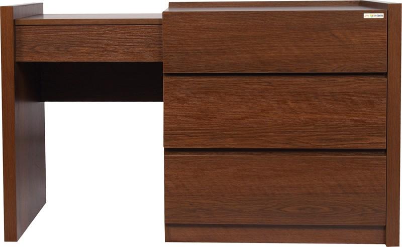 Godrej Interio Melissa Engineered Wood Dressing Table(Finish Color - Dark oak)