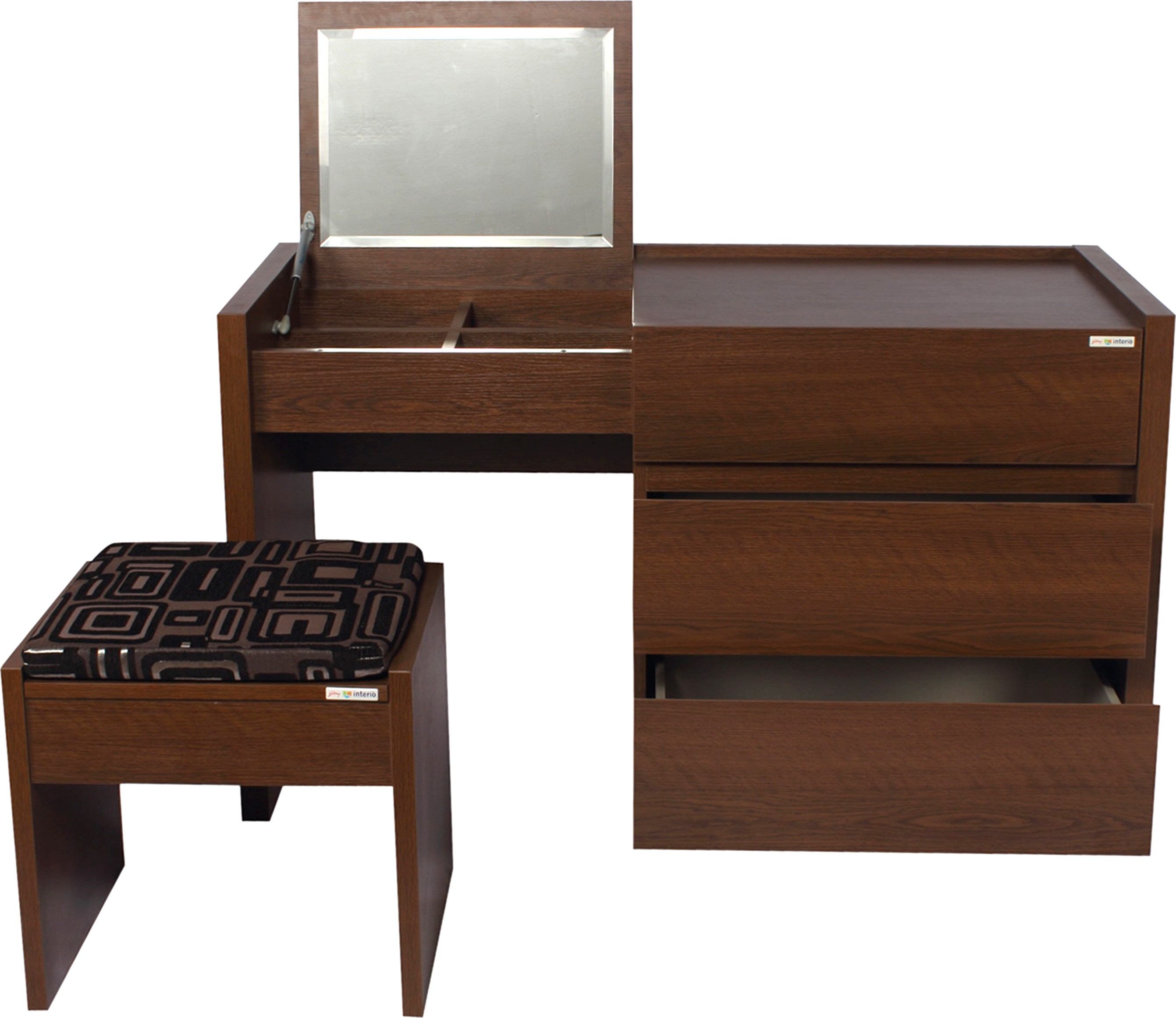Godrej Interio Engineered Wood Dressing Table