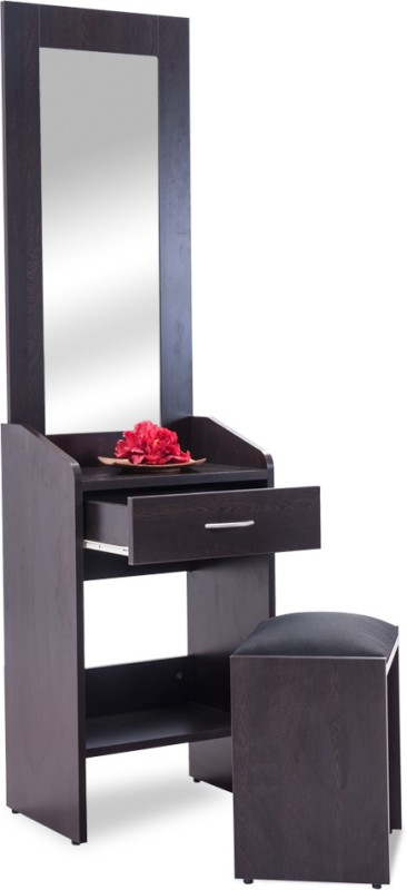 Durian Krish Engineered Wood Dressing Table(Finish Color - Wenge)