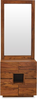 @home by Nilkamal Cubano Solid Wood Dressing Table