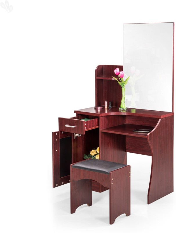 Royal Oak Barcelona Engineered Wood Dressing Table(Finish Color - Honey Brown)