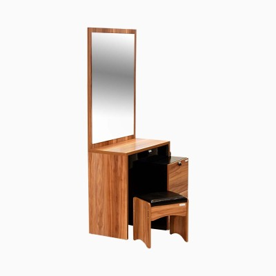 Godrej Interio Aryan Dressing Table with Stool Engineered Wood Dressing Table