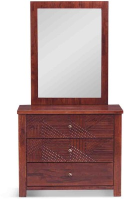 Evok Orchid Solid Wood Dressing Table