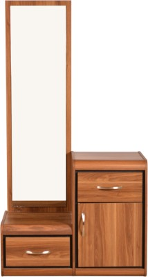 HomeTown Archer Engineered Wood Dressing Table(Finish Color - Walnut)