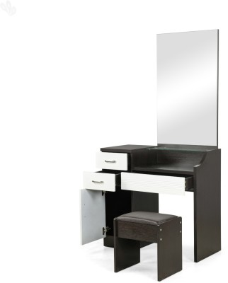 Royal Oak Geneva Engineered Wood Dressing Table(Finish Color - Dark Brown)