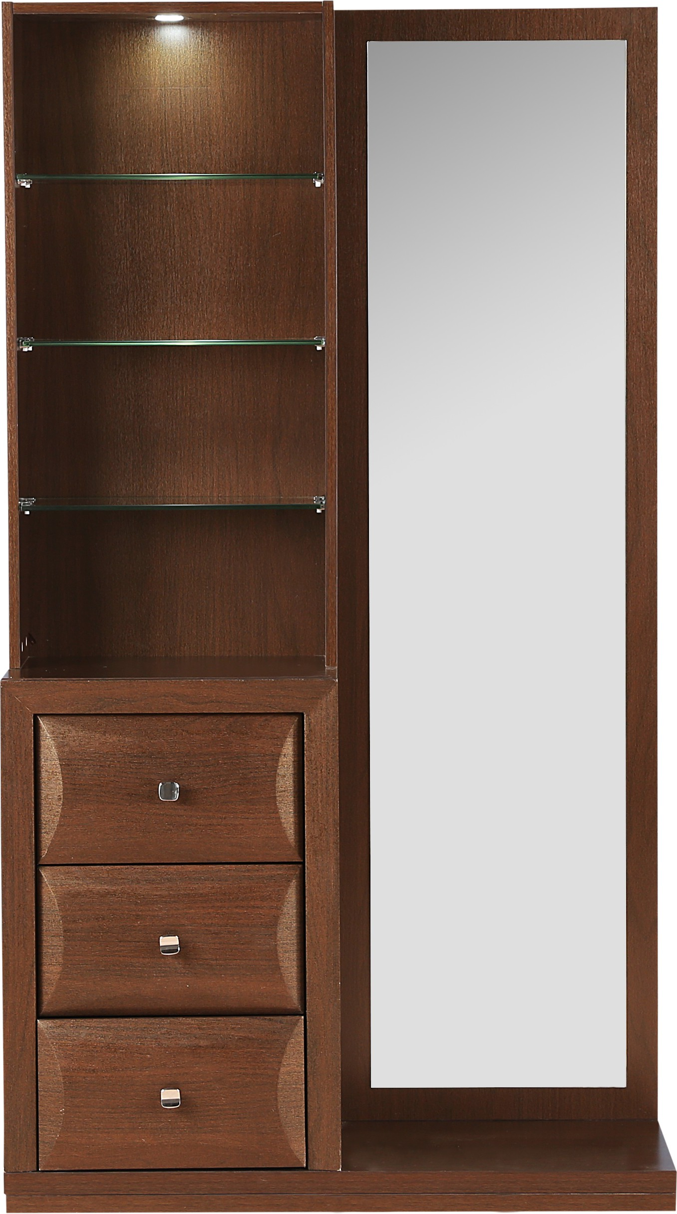 Hometown Cambry Engineered Wood Dressing Tablefinish Color Walnut