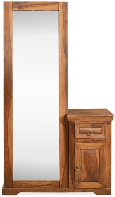 @home by Nilkamal Cubus Solid Wood Dressing Table