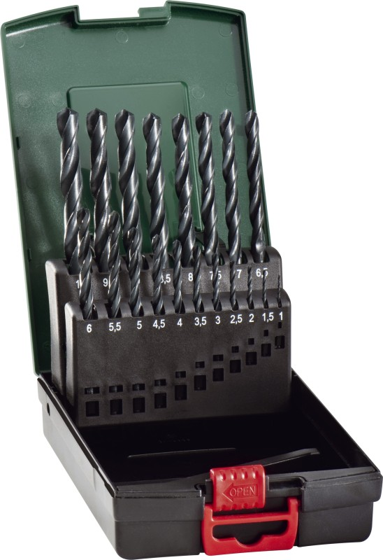 CUMI Metabo HSS Drill Bits Brad Points Set(Pack of 19)
