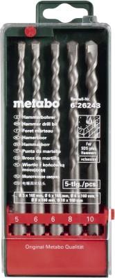 CUMI Metabo SDS Plus Drill Bit set - Classic Brad Points Set(Pack of 5)