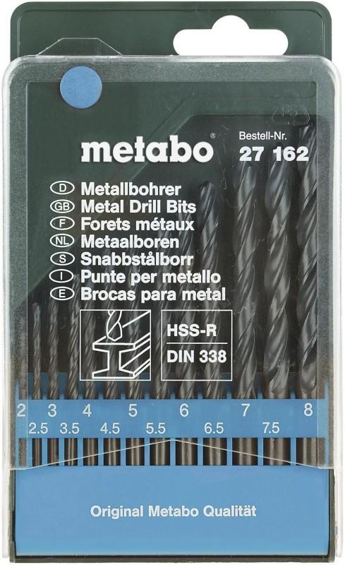 CUMI Metabo HSS Twist Drills Brad Points Set(Pack of 13)