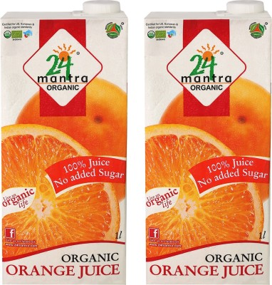 24 Mantra Organic Juice 1 L Fruit Juice