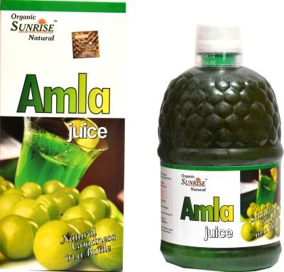 Sunrise Organic Amla 800 ml Fruit(Pack of 1)