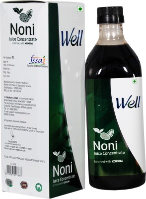 Modicare Well Noni Juice Concentrated Enriched with Kokum 1000 ml Fruit(Pack of 1)