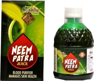 Sunrise Agriland Organic Neem Patra Ras 400 ml Fruit(Pack of 1)