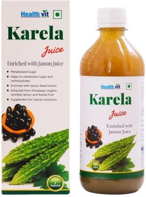 Healthvit Karela Jamun Juice 500 ml Fruit