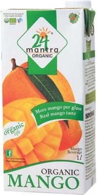 24 Mantra Organic 1 L Fruit(Pack of 1)