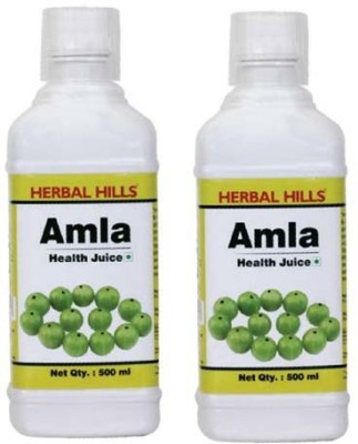 Herbal Hills Amla Juice - Combo 500 ml Fruit