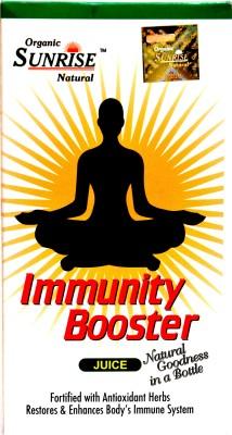Sunrise Organic Immunity Booster 800 ml Fruit(Pack of 12)