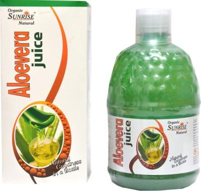 Sunrise Agriland Organic Aloevera 400 ml Fruit(Pack of 1)