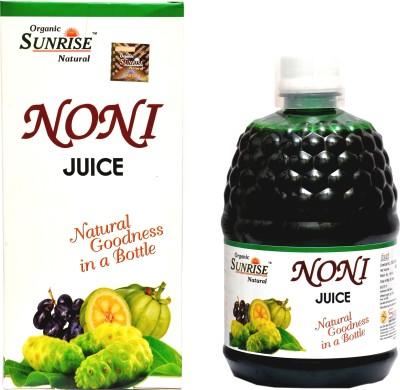 Sunrise Agriland Organic Noni Juice 400 ml Fruit(Pack of 1)