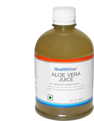 HealthViva Aloe Vera Juice 500 ml Drink
