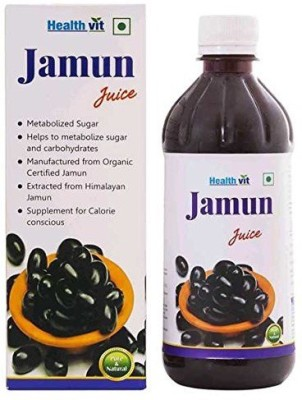 Healthvit Jamun Juice (500 ml) 500 ml Fruit Juice