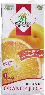 24 Mantra Orange 1 L Fruit(Pack of 1)