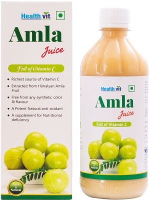 Healthvit Amla Juice 500 ml Fruit Juice