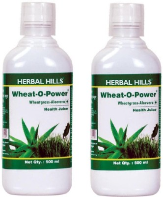 Herbal Hills Wheat-O-Power(Aloe Wheatgrass) (Combo) 500 ml Vegetable